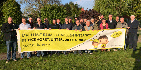 Schnelles Internet für Eickhorst - Unterlübbe und Nettelstedt
