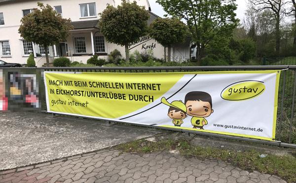 Schnelles Internet für Unterlübbe